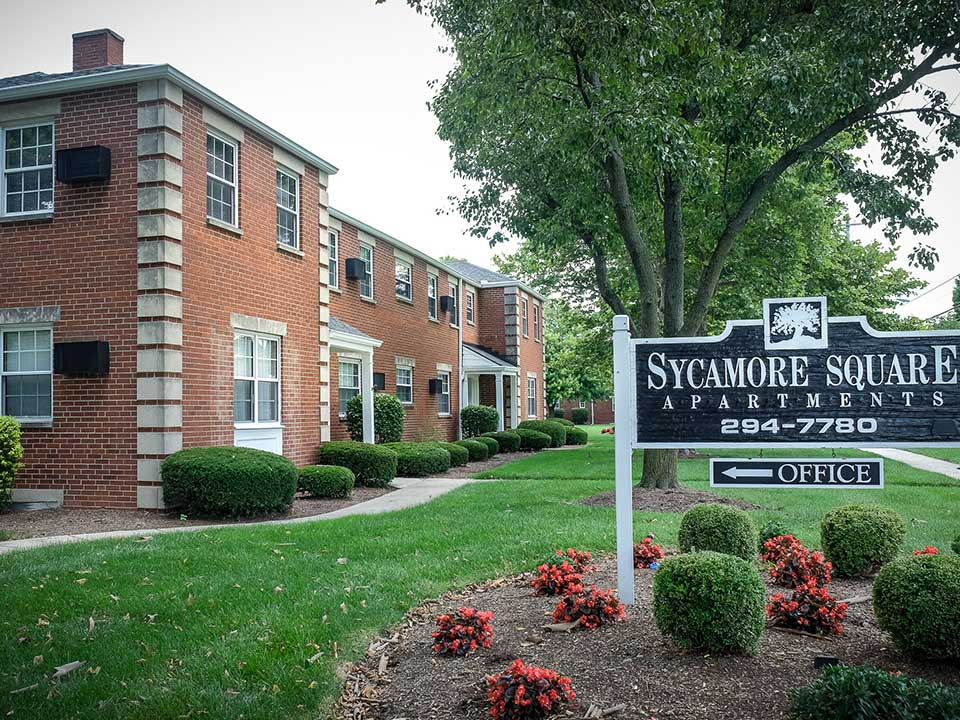 Sycamore Square Exterior Sign