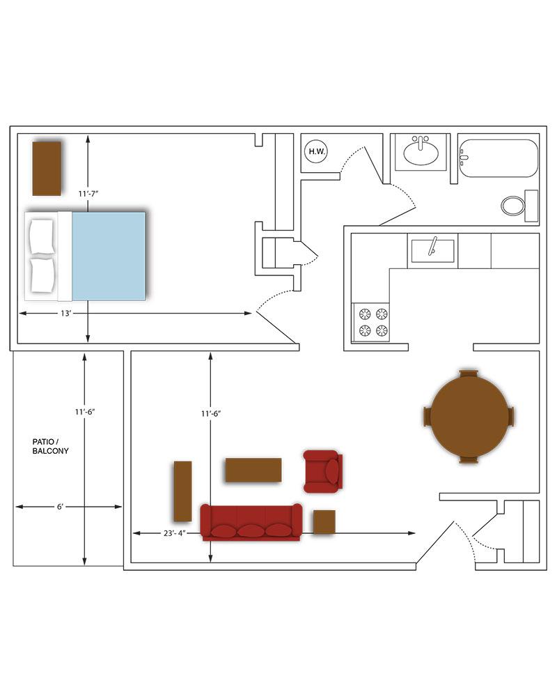 Ponderosa Apartments: Oberer Management